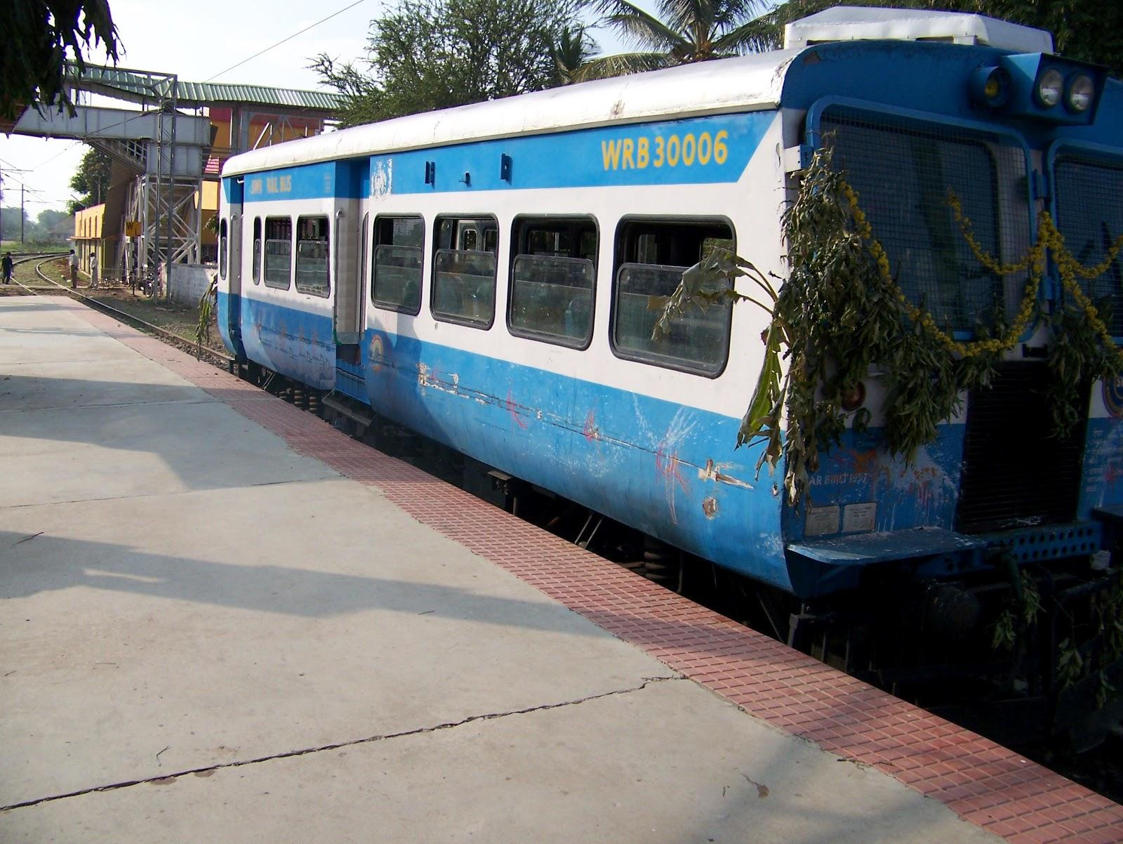 The RailBus in Karnataka