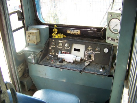 Railbus- Driver's cabin