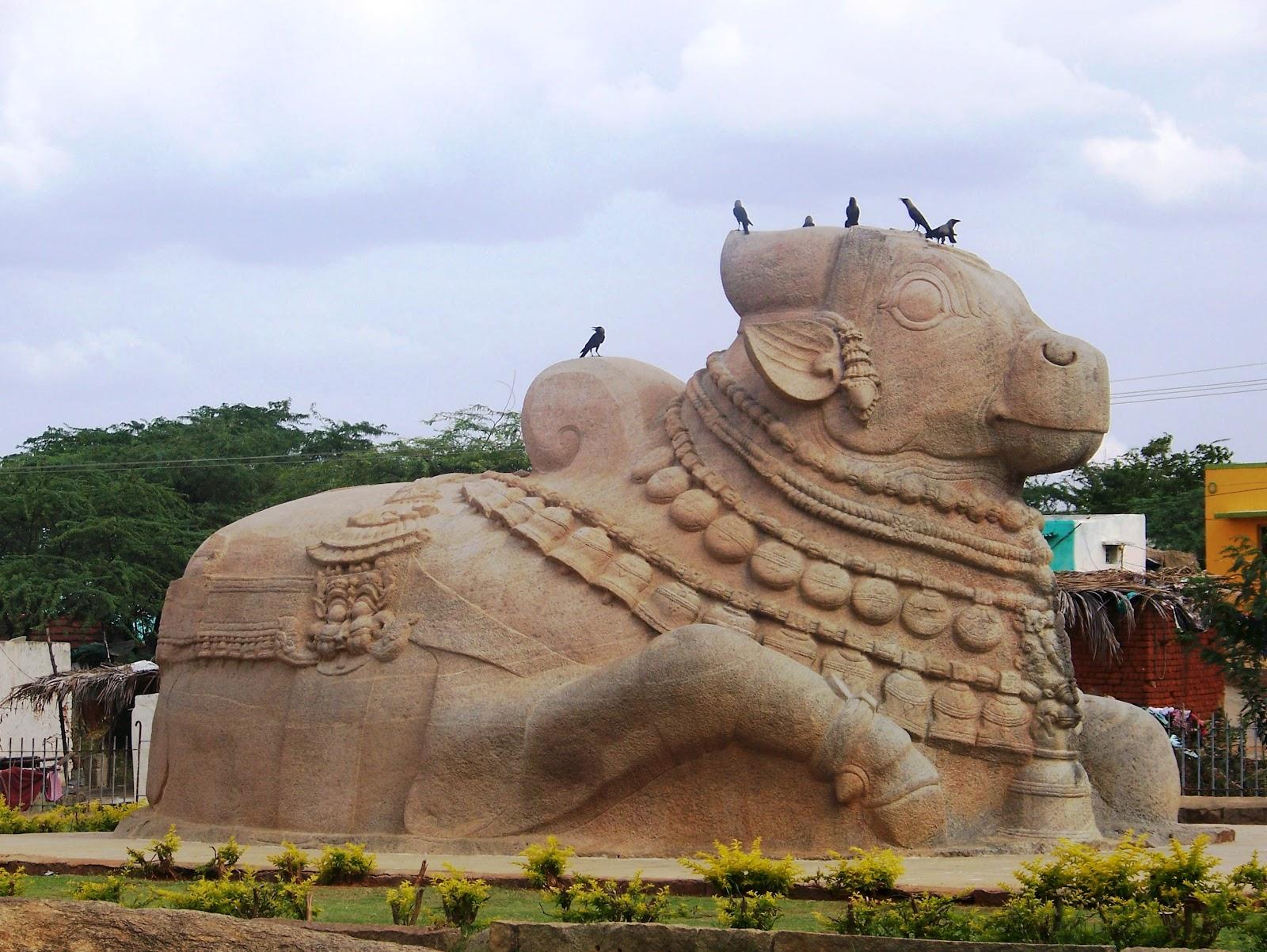 Basavanna- Guarding the entrance