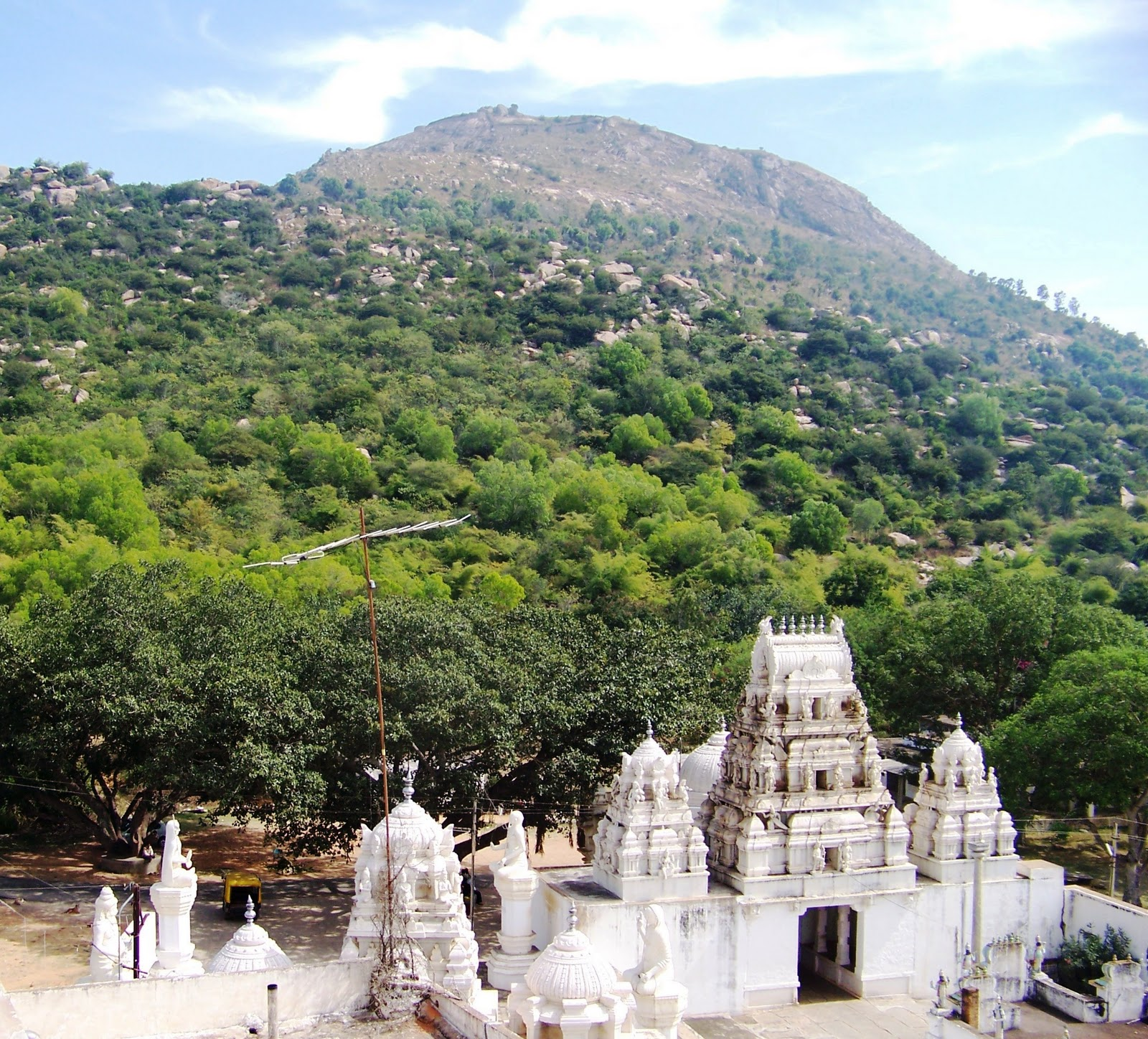A view from The Vaikunta temple