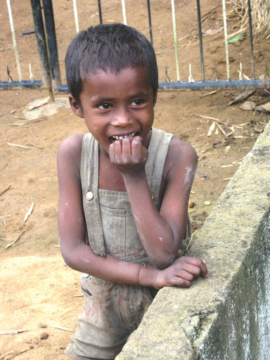 A boy from the Yerava tribe in Coorg
