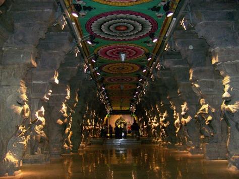 Inside the Temple art museum