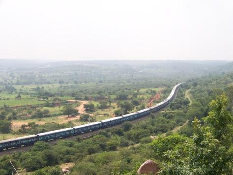 The Nizammuddin-Yeswantpur passenger