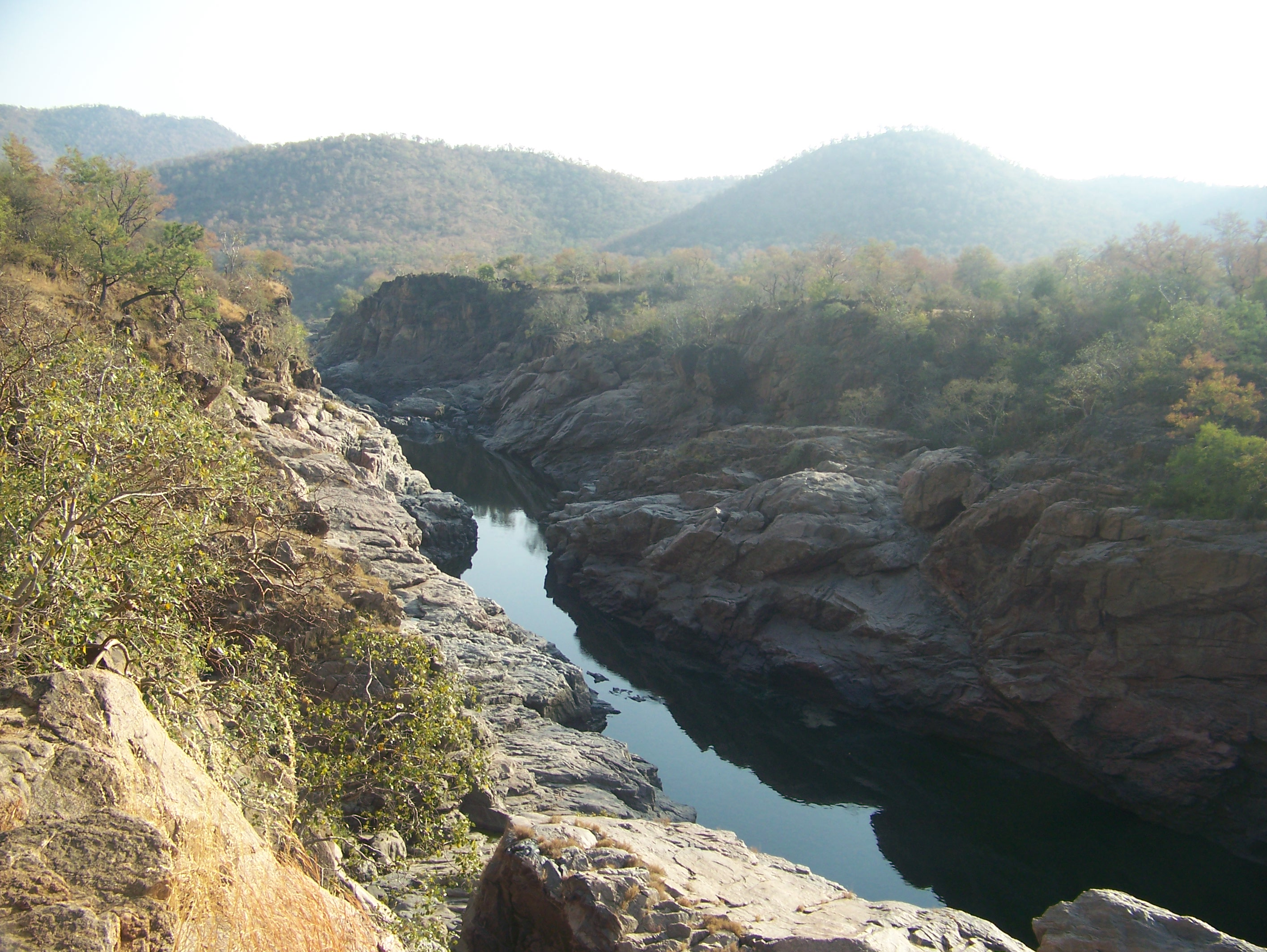 View enroute to Mekedaatu from Sangama