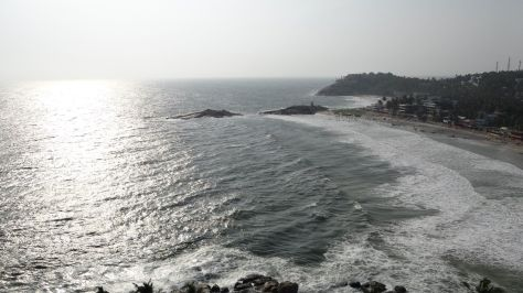 View from the Vizinjam lighthouse