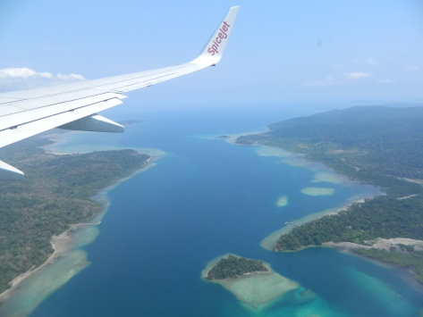 Andamans from the air