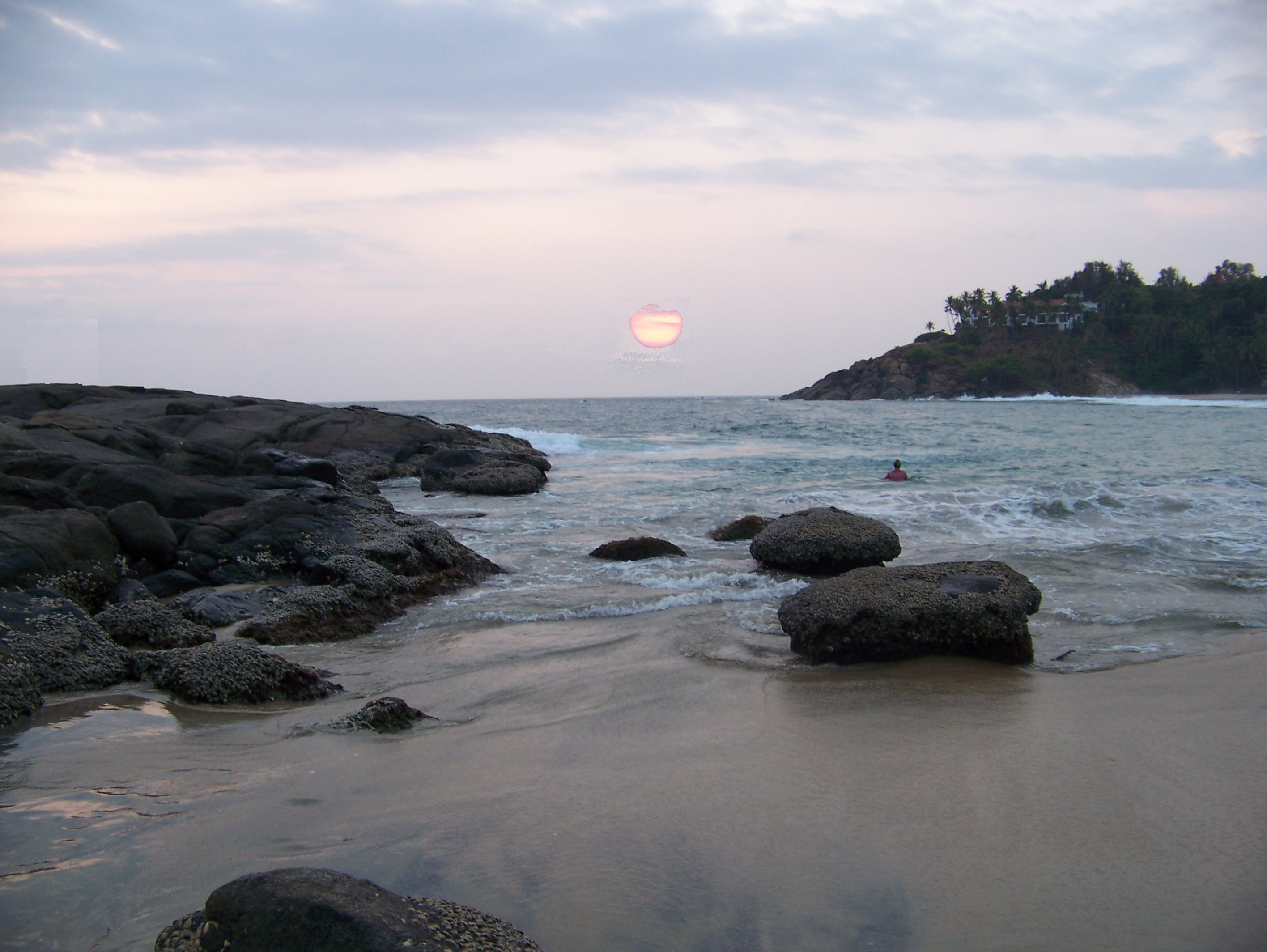 Kovalam beach @ sunset