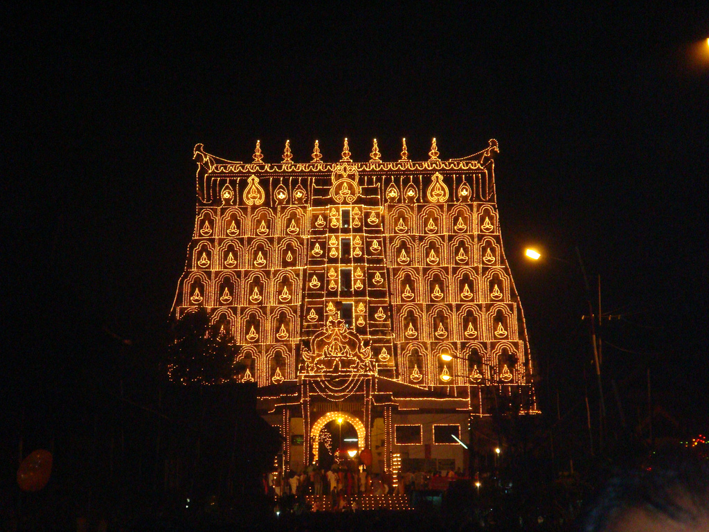 Main gate - Padmanabhaswamy temple