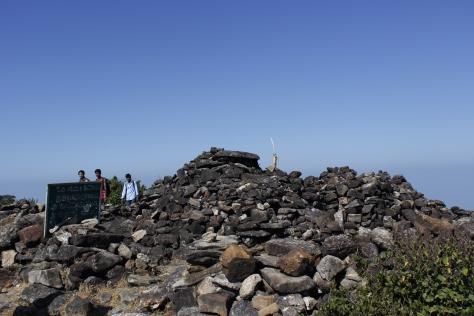 Shiva temple atop Pushpagiri hill