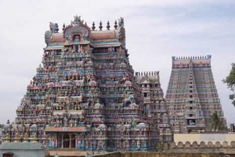 The Antya Ranganathar swamy temple at Srirangam