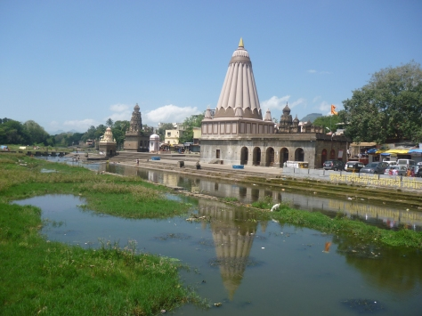 Wai ghat on the banks of river Krishna