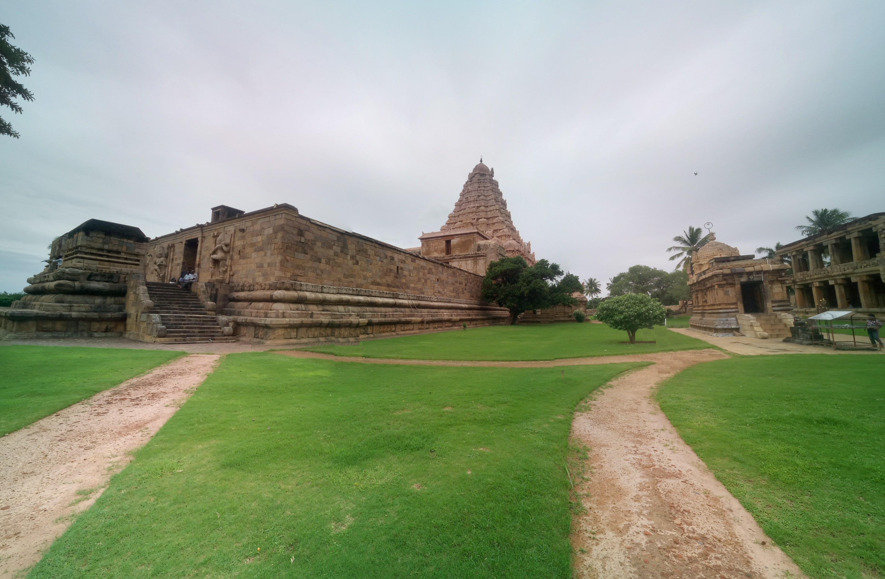 The Brihadeeshwara temple at Gangaikonda Cholapuram