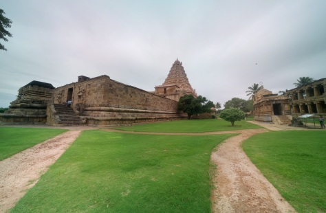 The Brihadeeshwara temple at Gangaikonda Cholapuram