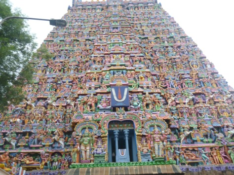 The Rajagopuram at the Sarangampani Kovil