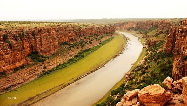 The Pennar gorge at Gandikota Photo credits: Arun Kumar B.R.