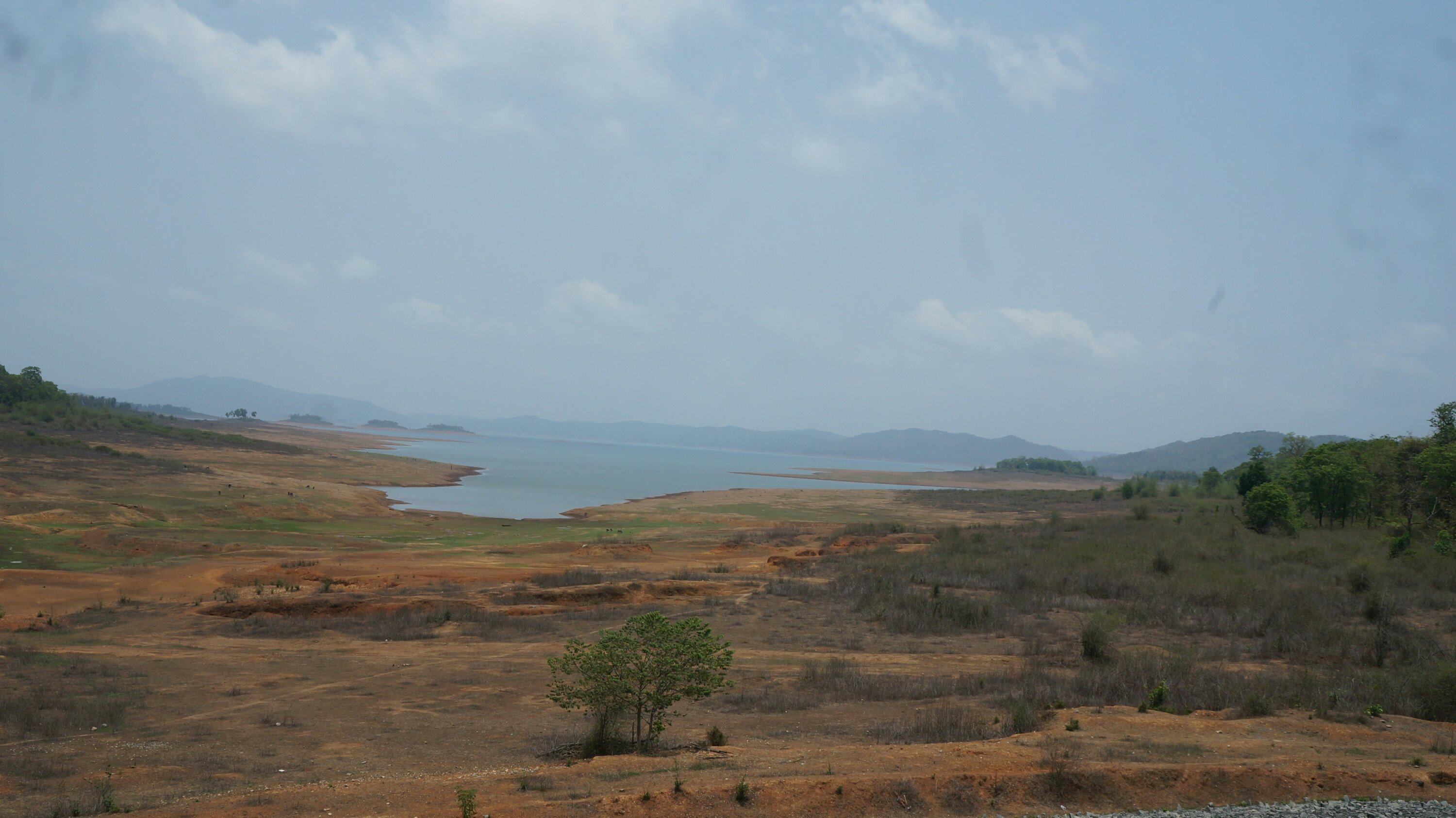 View from the Supa dam backwaters