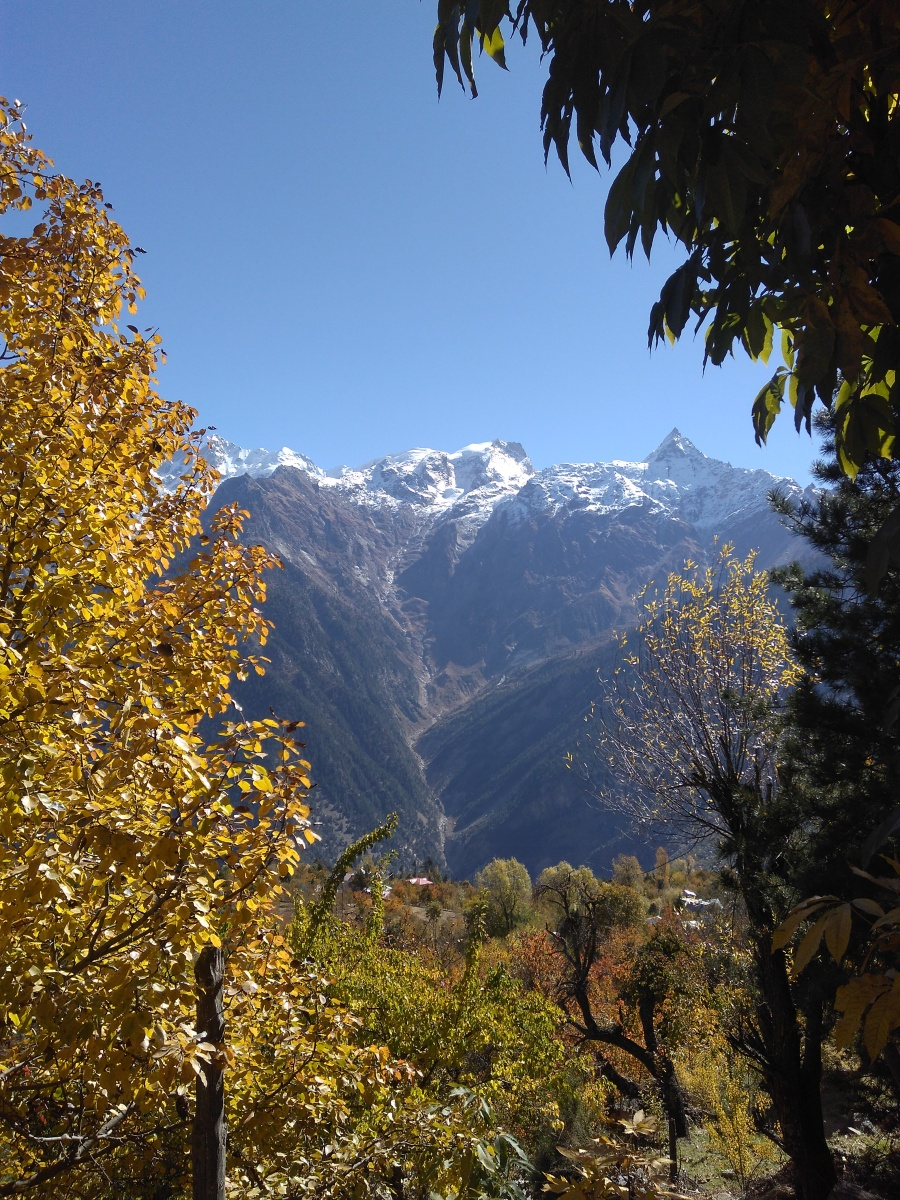 The Mountains beckon in the Apple valley of India- Kinnaur