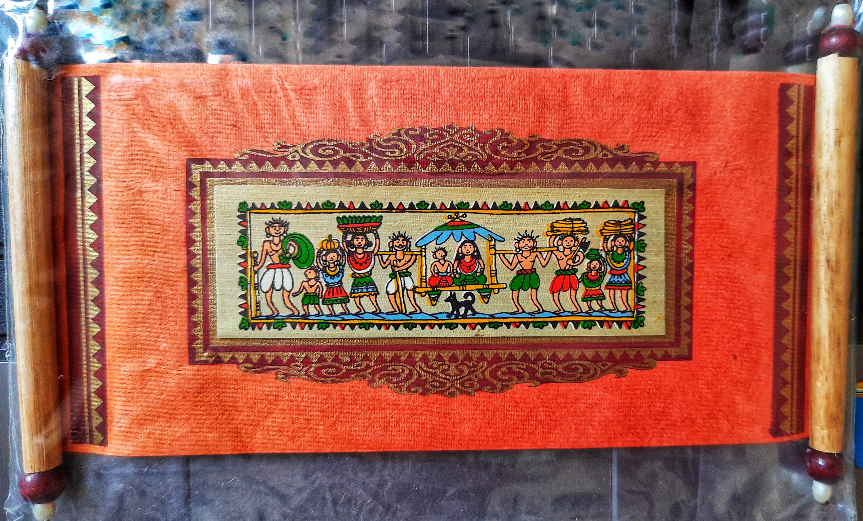 Pattachitra paintings in modern gifts