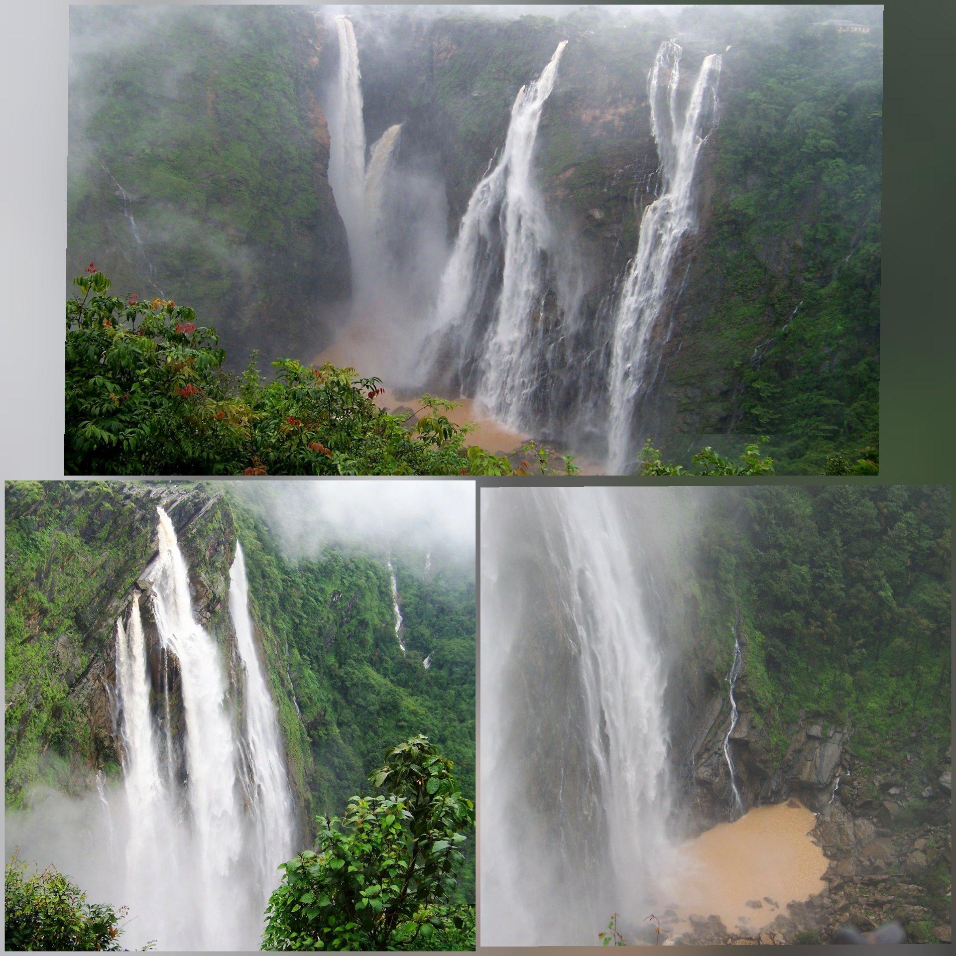Jog falls in monsoon