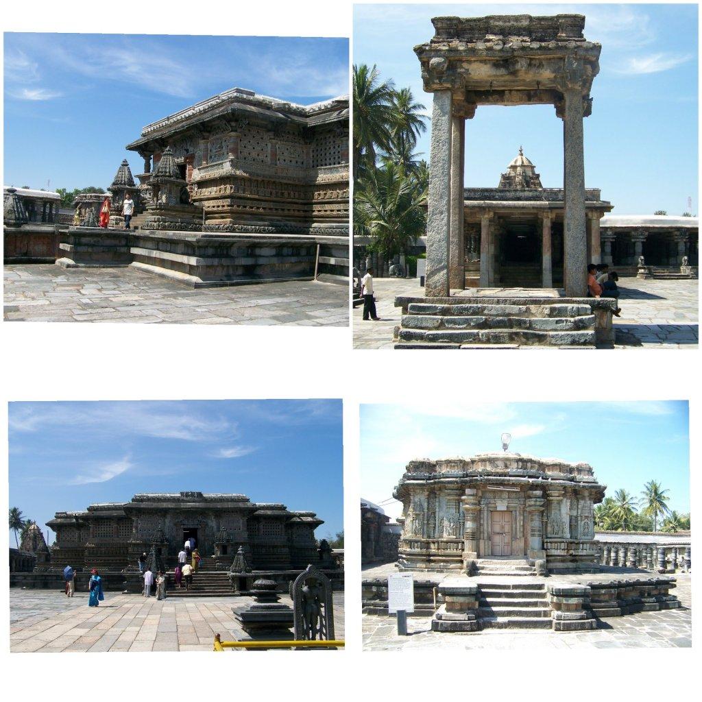 The Belur Chennakeshava temple complex