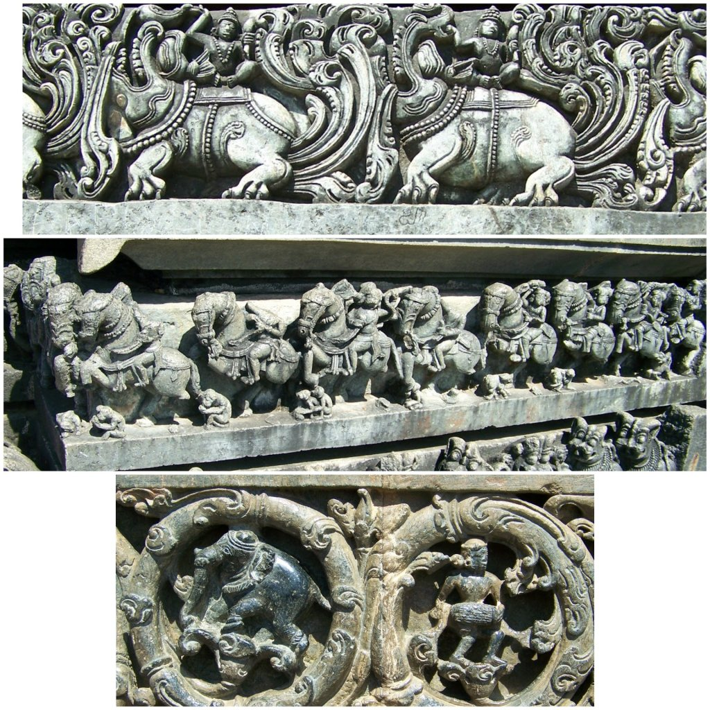 Murals at Chennakeshava temple complex