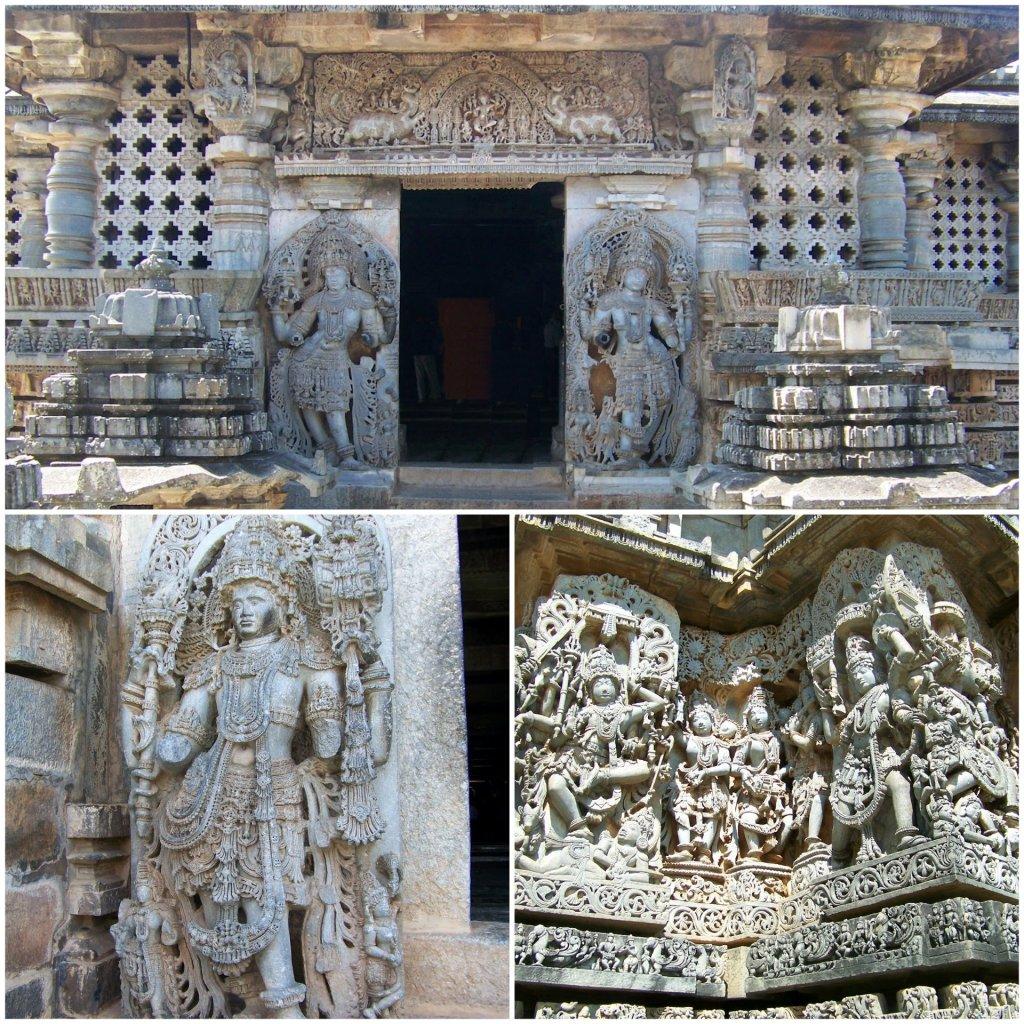 The Hoysaleshwara temple at Halebeedu